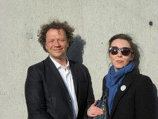 Frédéric Boyer and Anne-Katrin Titze. Photo by Kim Dang.
