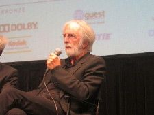 Michael Haneke at the 2012 New York Film Festival press conference for Amour. Photo by Anne-Katrin Titze.