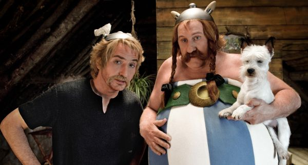 <b>Edoard Baer and Gérard Depardieu as Astérix and Obélix</b>