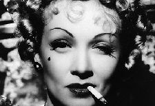 Marlene Dietrich, one of Hollywood's most iconic women