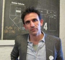 Michelangelo Frammartino at MoMA PS1 <em>Photo: Anne-Katrin Titze</em>