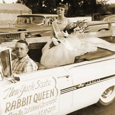 The first National Rabbit Queen