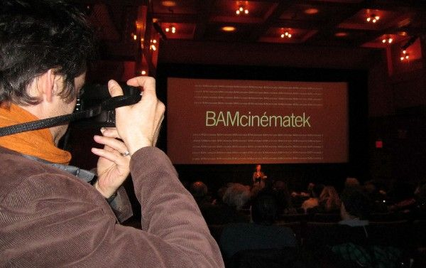 <b>Mathieu Demy at BAMcinématek for his film Americano </b> <em>Photo: Anne-Katrin Titze