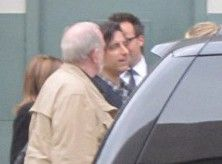 Brian De Palma was spotted with Noah Baumbach
