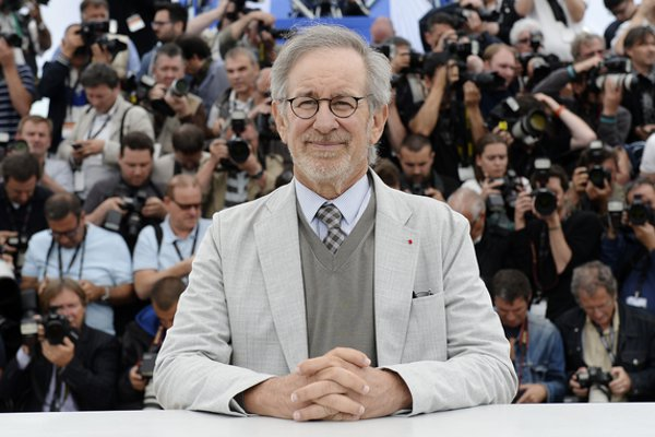 Head of the Cannes jury Steven Spielberg at the photocall <em>Photo: © AFP</em>