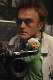 Danny Boyle behind the camera