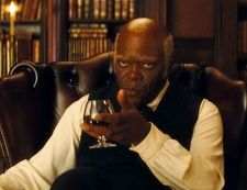 Samuel L Jackson in the film