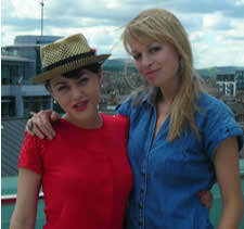 Jaime Winstone and Sian Breckin