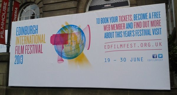 Edinburgh Filmhouse festival poster <em>Photo: Amber Wilkinson</em>