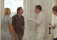Naomi Watts as Anna, Tim Roth as George, Michael Pitt as Paul and Brady Corbet as Peter in Funny Games