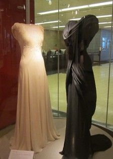 Walter Plunkett's black silk evening gown from Adam's Rib