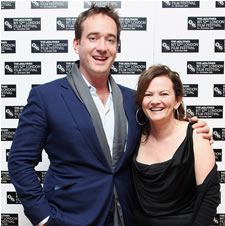 Matthew Macfadyen and Sharon Maguire before the European Premiere of Incendiary at the London Film Festival Photo: Dan Kitwood/Getty Images