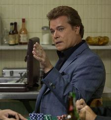 Ray Liotta as fall guy Markie