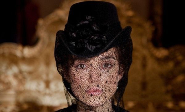 <b>Keira Knightley's veiled character Anna Karenina in Joe Wright's adaptation</b>