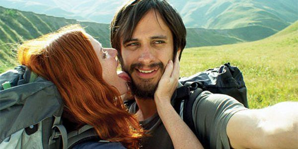 <b>Hani Furstenberg and Gael Garcia Bernal as Nica and Alex in The Loneliest Planet</b>