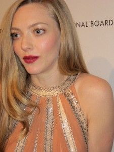Amanda Seyfried decked out in Bottega Vaneta, in 90 minutes or less<em> Photo: Anne-Katrin Titze</em>