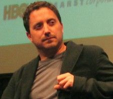 Pablo Larraín at New York Film Festival press conference <em>Photo: Anne-Katrin Titze</em>