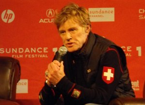Robert Redford at the opening press conference