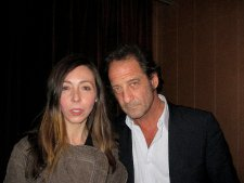Anne-Katrin and Vincent Lindon
