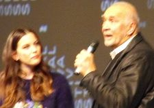 The ever excellent Langella holding forth at this year's festival