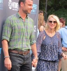 <b>Tropfest New York host Liev Schreiber with Naomi Watts</b> <em>Photo: Anne-Katrin Titze