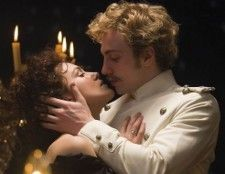 Anna Karenina and Count Vronsky (Aaron Johnson)