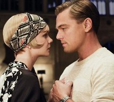 Carey Mulligan and Leonardo DiCaprio in The Great Gatsby, which will open Cannes