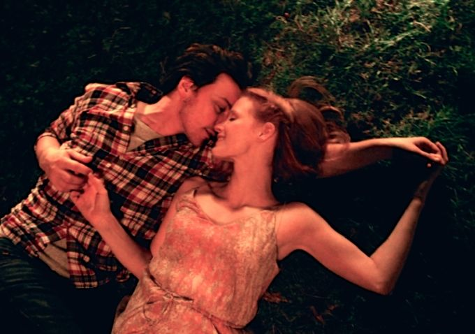 James McAvoy and Jessica Chastain in Ned Benson's Eleanor Rigby.