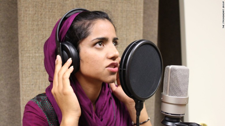 A young Afghan woman raps her way to freedom in Sonita