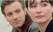 Ewan McGregor and Emily Mortimer in Young Adam