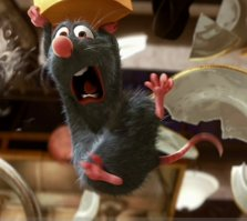 Things get hot in the kitchen for Remy in Brad Bird's latest Ratatouille