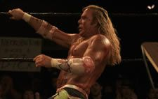 Mickey Rourke in Darren Aronofsky's The Wrestler