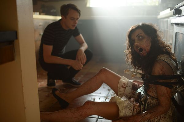 Aubrey Plaza and Dane De Haan in Life After Beth