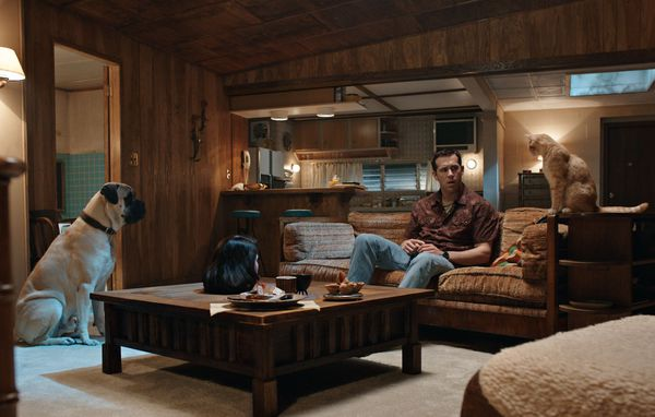 Ryan Reynolds and Gemma Arterton in The Voices