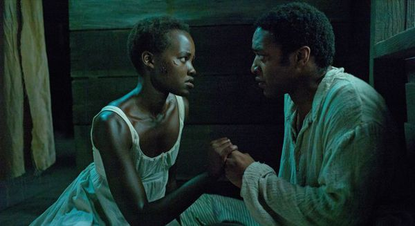 Lupita Nyong'o and Chiwetel Ejiofor in 12 Years A Slave.