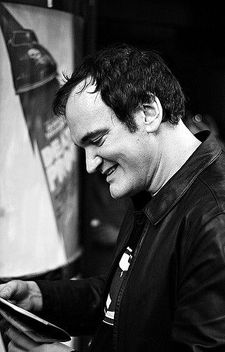 Longstanding GFT fan Quentin Tarantino visiting the cinema