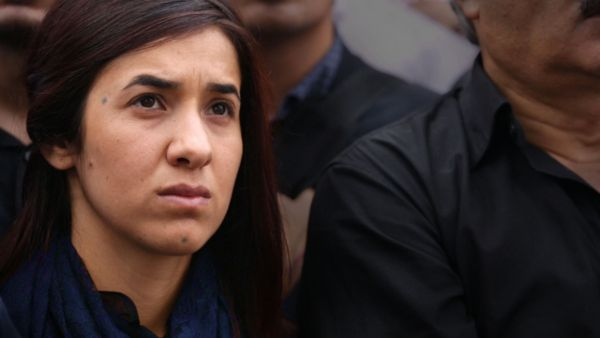 On Her Shoulders - A Yazidi genocide and ISIS sexual slavery survivor, 23-year-old Nadia Murad is determined to tell the world her story. As her journey leads down paths of advocacy and fame, she becomes the voice of her people and their best hope to spur the world to action.
