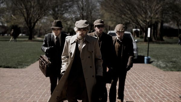 American Animals. Bart Layton: 'There was no road map in terms of the template and that was the thing with the producers and the financers, it was a totally unconventional process'