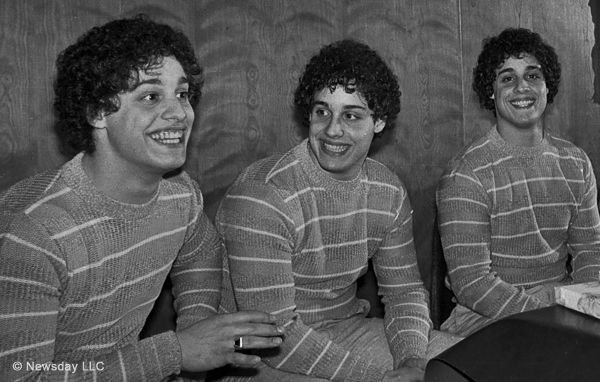 Three Identical Strangers - New York,1980: three complete strangers accidentally discover that they're identical triplets, separated at birth.