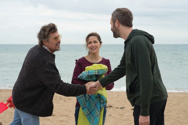 Ethan Hawke, Rose Byrne and Chris O'Dowd in Juliet, Naked