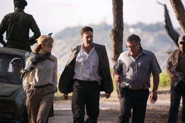 Rosamund Pike, Jon Hamm, Dean Norris in The Negotiator, which will have its UK premiere in Edinburgh