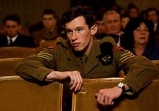 Callum Turner as a young John Boorman in Queen And Country