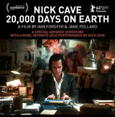 "20,000 Days on Earth poster: ""He was the first musician to ask us to make a music video."""