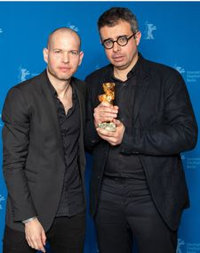 Synonyms director Nadav Lapid and producer Ben Said