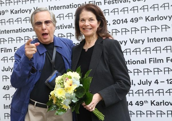 William Friedkin and his wife Sherry Lansing