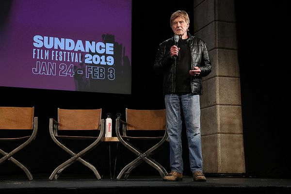 Robert Redford at the Day One Press Conference of the 2019 Sundance Film Festival