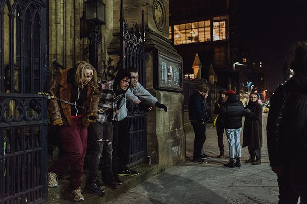 Zombies on the loose in Glasgow