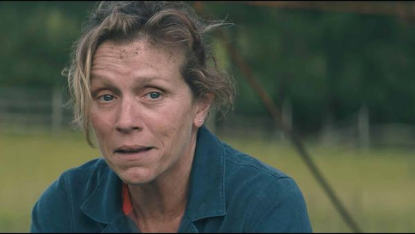 Best Actress winner Frances McDormand in Three Billboards Outside Ebbing, Missouri