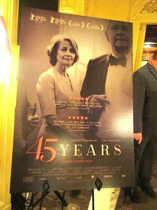 45 Years US poster at the Plaza Athénée