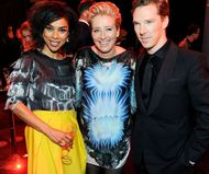 Sophie Okonedo, Emma Thompson and Benedict Cumberbatch at 2014 BIFAs - photo by Dave J Hogan/Getty Images